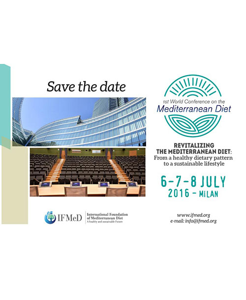 1st IFMeD World Conference on Mediterranean Diet