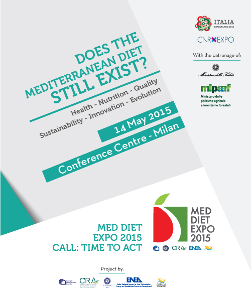 "EXPO 2015, Conference ""Does the Mediterranean diet still exist? The Med Diet EXPO 2015 call: time to act"""