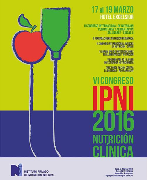 VI Congreso IPNI 2016 NUTRICIÓN CLÍNICA
